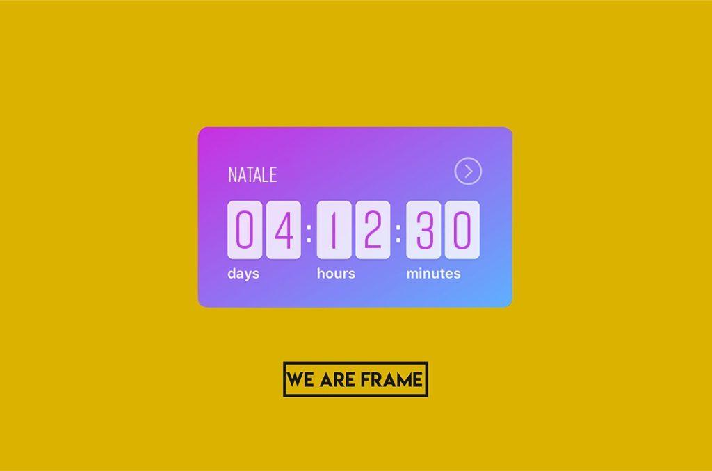 Countdown Instagram